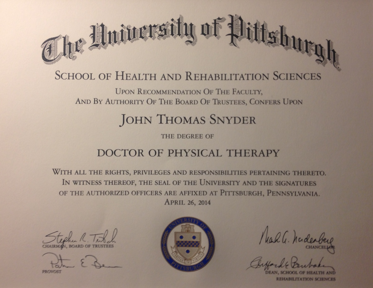 Degree doctoral physical therapy - Degree Doctoral Physical Therapy 5